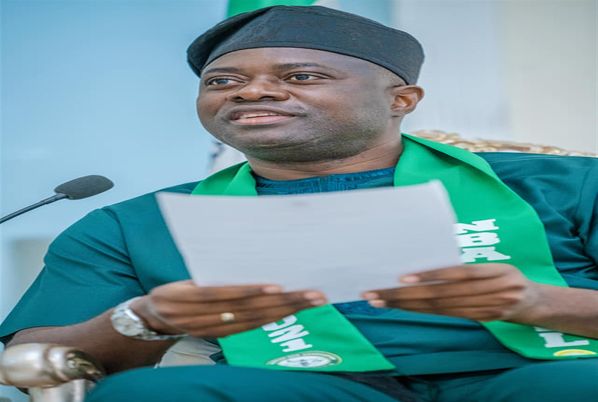 Makinde swears-in 10 Commissioners, President of Customary Court of Appeal