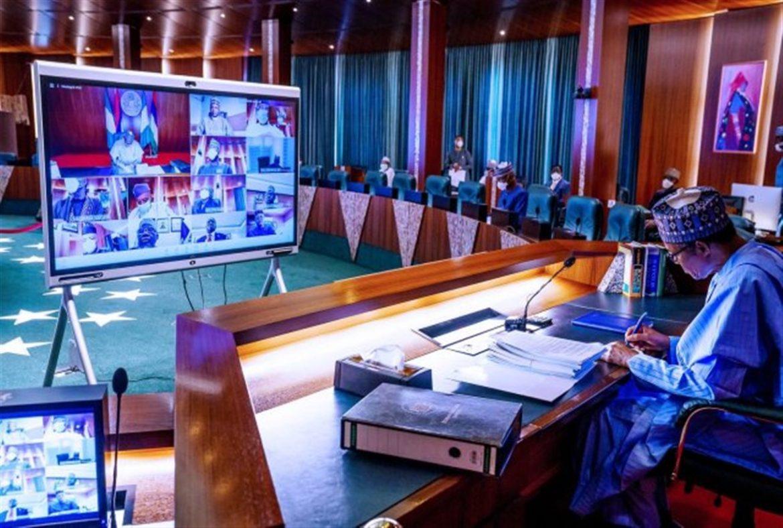 Buhari Presides Over Crucial Security Meeting At Aso Villa