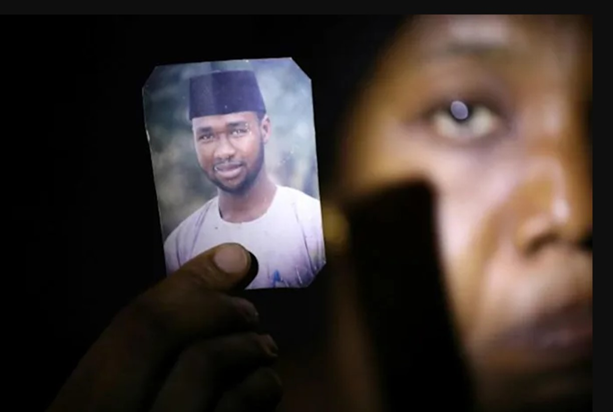 Photo Of Mubarak Bala, Nigerian Atheist Held Out By His Wife - TDPel News