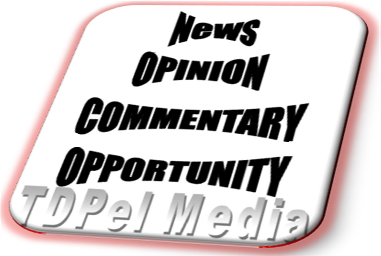 News,Opinion,Commentary,Opportunity TDPelNews
